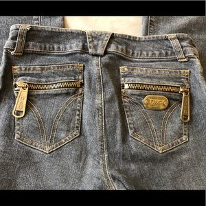 DOLCE & GABBANA Authentic Jeans with Large Zippers